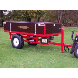 Hydraulic Tipping Trailer with Manual Action Hydraulic Pump - SCH HTRLM
