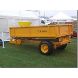 2.5 Ton Trailer - 3.05m x 1.52m - 35hp - Rear Tip