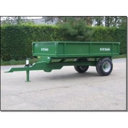 3.5 Ton Trailer - 3.05m x 1.83m - 40hp - Rear Tip