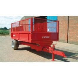 5.5 Ton Trailer - 3.66m x 2.05m - 60hp - Rear Tip
