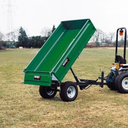 1.5 ton Hydraulic Tipping Trailer with LGP Tyres