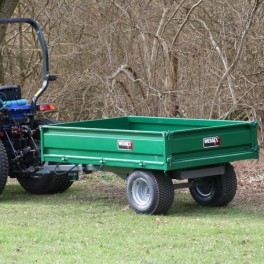 3 ton Hydraulic Tipping Trailer with LGP Tyres