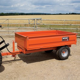 1.25 ton Hydraulic Tipping Trailer with LGP Tyres