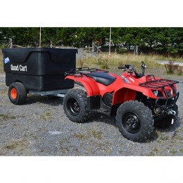 Quad Kart Trailer with Plastic Door