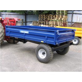 2000kg Dropside Tipping Trailer