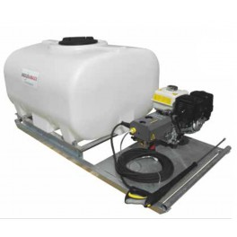 700L Pressure Washer Skid Unit - 13 L/m - 2900Psi (200Bar) Honda Petrol & Recoil