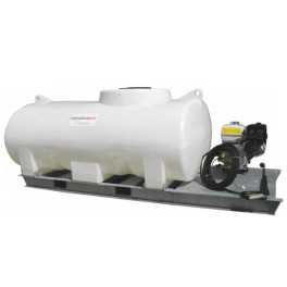 1200L Pressure Washer Skid Unit - 13 L/m - 2900Psi (200Bar) Honda Petrol & Recoil
