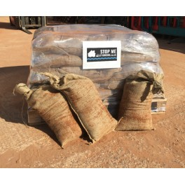 50 Sand Filled White Plastic Sandbags