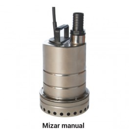 150 - 225ltr/min Submersible Drainage Pump (304 stainless) - Mizar 30 230V