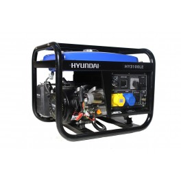 Petrol Generator 2.8kW/3.5kVA 115v/230v Long Run Rank Electric Start