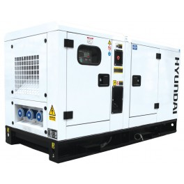 Canopied Single Phase Diesel Generator 17.6kW/23kVA 230v 1500rpm