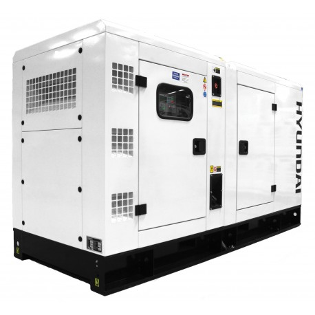 Canopied 3 Phase Diesel Generator 120kVA, 230v/400v 1500rpm - Deutz Engine