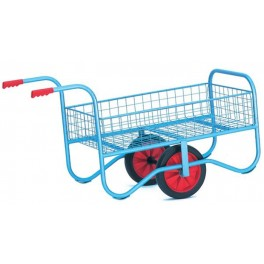 Mesh Garden Cart with Sides