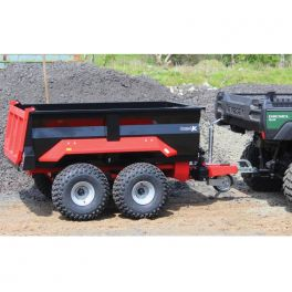 Dump Trailer with Hydraulic Tip - for Compact Tractor - 800L