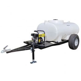 1200L Site Tow Interpump Pressure Washer Bowser - 13LPM - 2900PSI - Petrol - Recoil Start