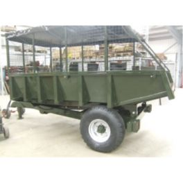 5 Ton Dump Trailer - 3.66m x 1.83m - 50hp - Rear Tip