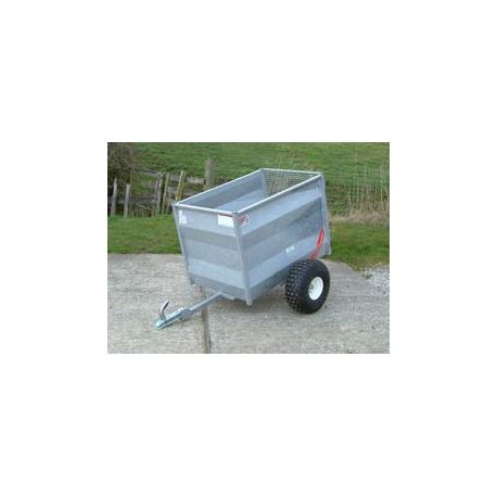 """48"""" ATV Livestock Trailer with Solid Pressed Steel Sides"""