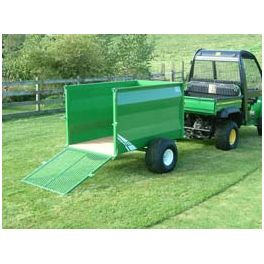 5'x3' ATV Groundcare Trailer with Tipping Facility