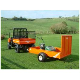"6'8"" ATV Groundcare Trailer with Extended Loading Ramp"