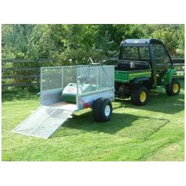 5'x3' ATV Groundcare Trailer with Loading Ramp
