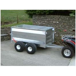 "6'8"" ATV Trailer - Mesh Gate and Double Axle"