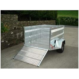 "6'8"" ATV Trailer - Small Tailgate"