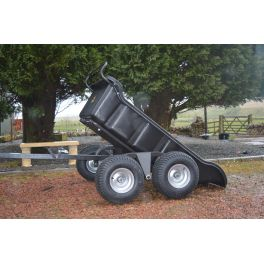 ATV 4 Wheel Tipping Trailer
