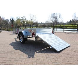 8ft x 5ft Trailer 750kg Ramped Heavy Duty Galvanised Box Utility ROAD LEGAL Trailer