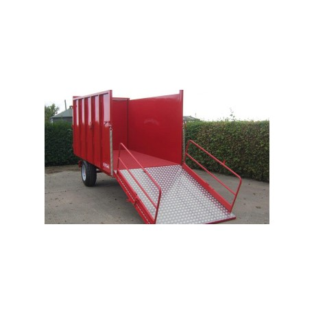 4 Ton Ramp Trailer - 3.05m x 1.6m - 35hp - Hydraulic with Folding Ramp