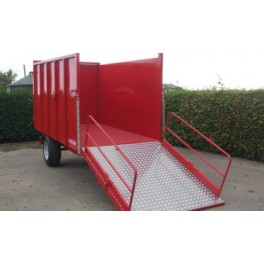 4 Tonne Ramp Trailer - 3.05m x 1.6m - 35hp - Hydraulic with Folding Ramp