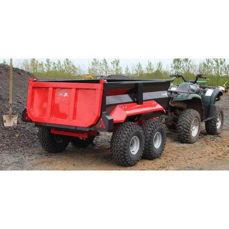 Dump Trailer with Electric Hydraulic Power Pack - 1250L