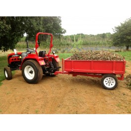 Tipping Trailer 2tn with Mesh Side Extensions
