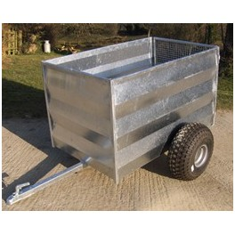 ST 160 - General Purpose / Livestock Trailer with gate door