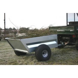 5X3'3 QUAD MECHANICAL TIPPING TRAILER