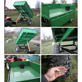 1.5 Ton All Round Estate Light Tipping Trailer