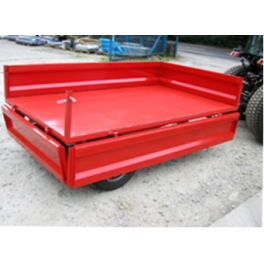 Tipping Trailers - Imported 1.25 Ton