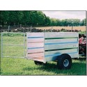 Off Road Stock Trailer Galvanised (6ft x 3ft 6 ins)