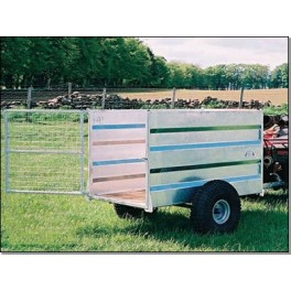 Galvanised Off Road Stock Trailer (5ft x 3ft)