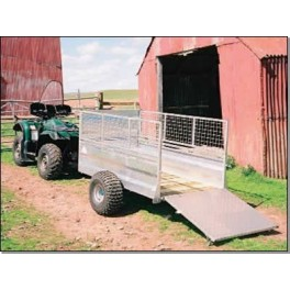 Off Road Utility Stock Trailer with MESH SIDES (6ft x 3ft 6in)
