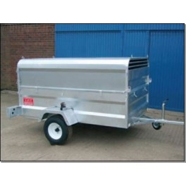 Road Legal Stock Trailer With Top (7ft x 4ft 6in)