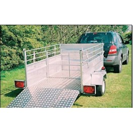 Road Legal Stock Trailer (8ft x 4ft 6in)