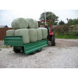 2 Ton Twin Axle Hydraulic Trailer with MULTILIFT options