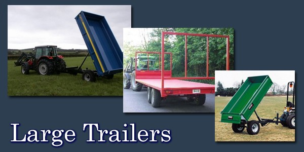 Click here to see our Large Trailers